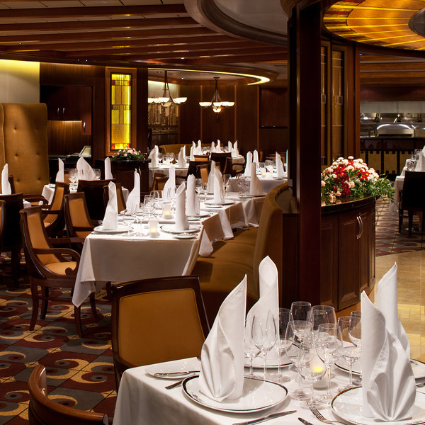 Chops Grill - Deck 8 Midship (Central Park)<br /> Oasis of the Seas - Royal Caribbean Cruise Line