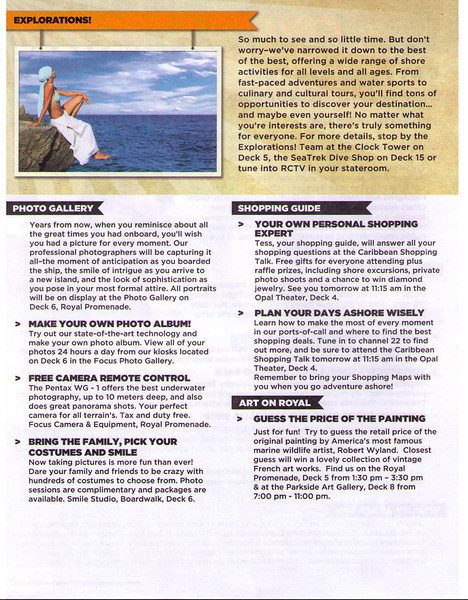 Oasis Cruise Specials (Inside Day Cruise Compass) 11/26/11 Page 2