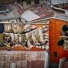Turnaround day in Valparaiso, Chile.<br /> 20 Dec 2014