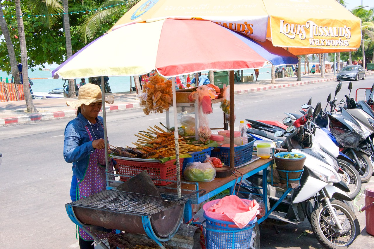 Street food in Pattaya.