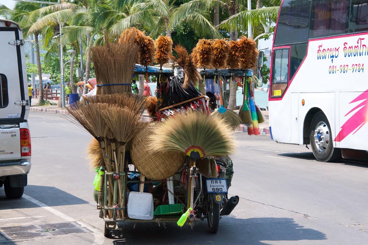 """The Thai version of the """"Fuller Brush Man""""."""