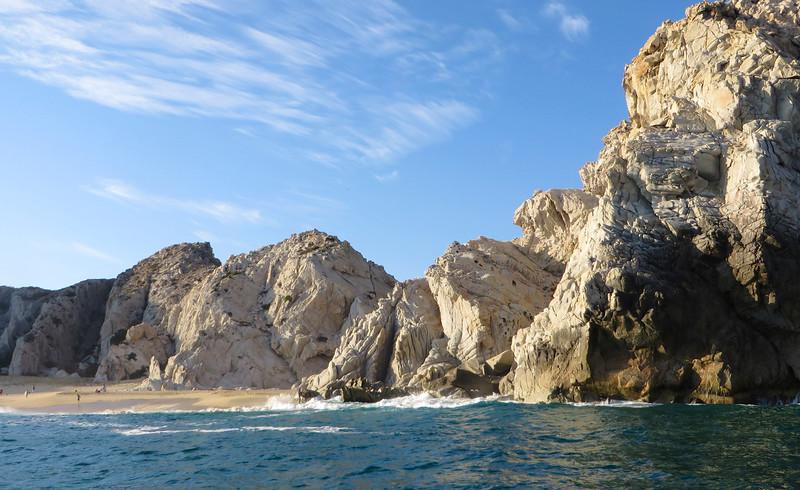 The cliffs of Cabo San Lucas, Mexico