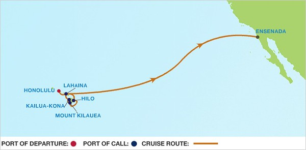 Once we boarded Celebrity Solstice we would cruise around the islands for 5 days before starting the 5 plus day jaunt back to the mainland.