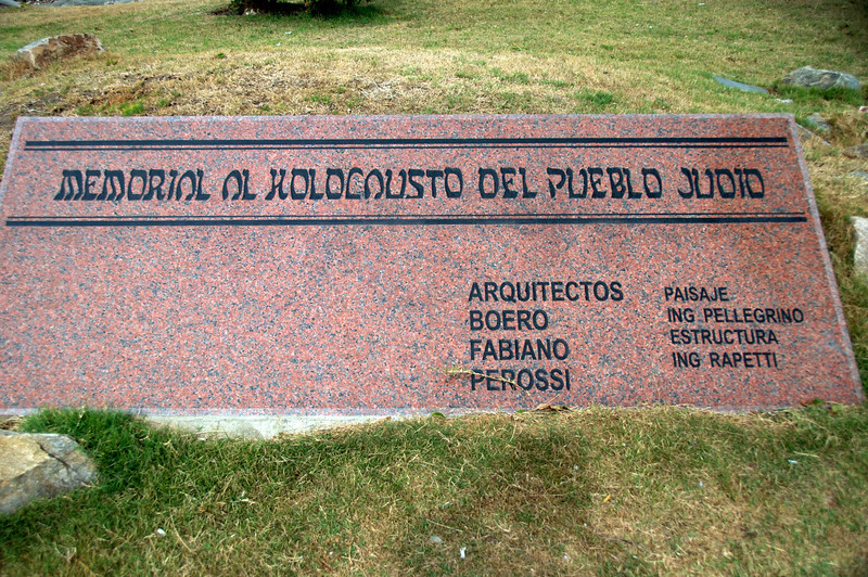 Holocaust Memorial Park    Only Holocaust Memorial in South America   2011-01-1909-22-46