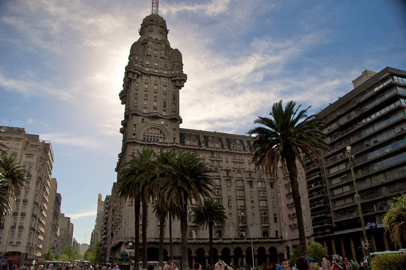 Originally the tallest building in Monteveido...