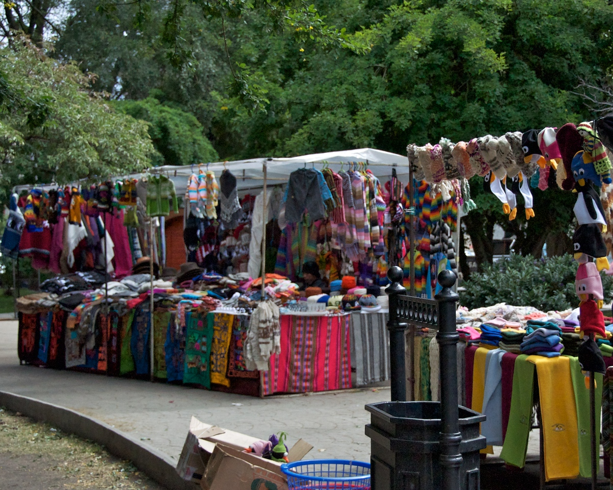 Local Handcrafts being Sold in Square2011-01-1211-52-54