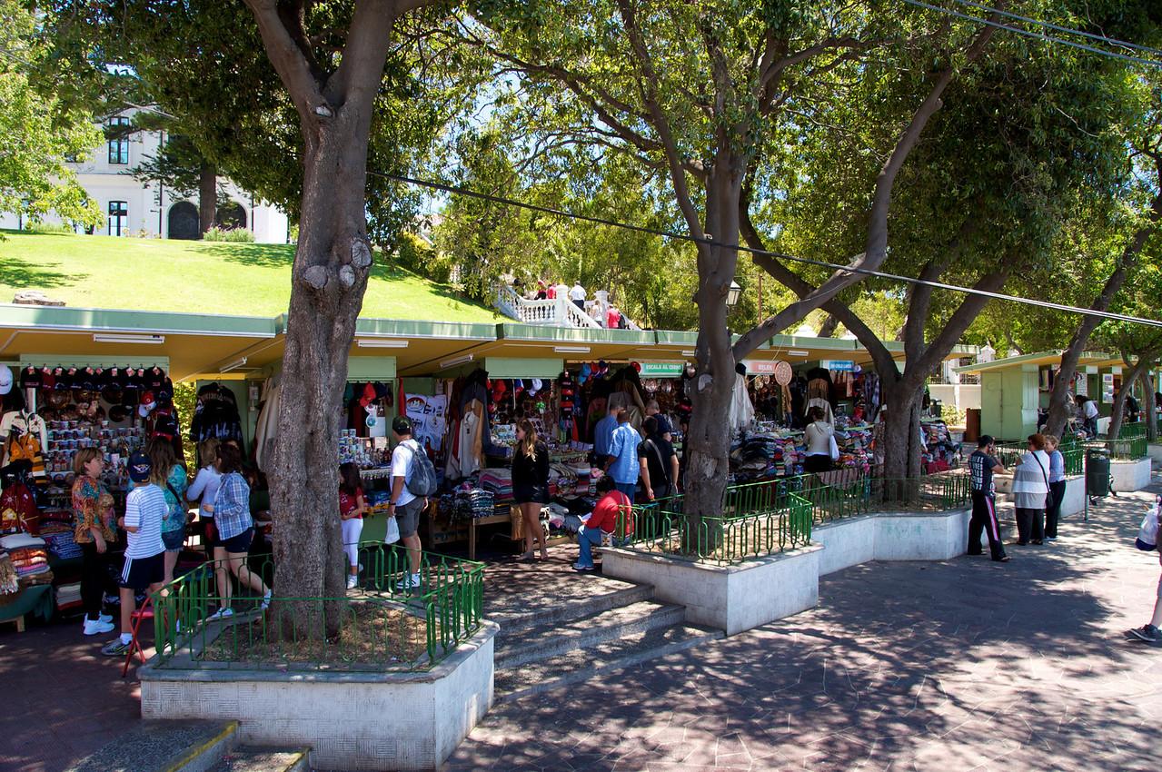 Tourist Market Overlooking Valpariso2011-01-0401-21-33