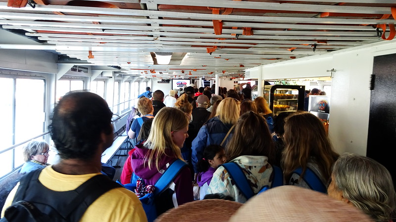 First stop - Ellis Island.