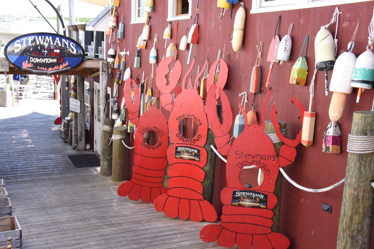 Buoys and Lobsters Everywhere