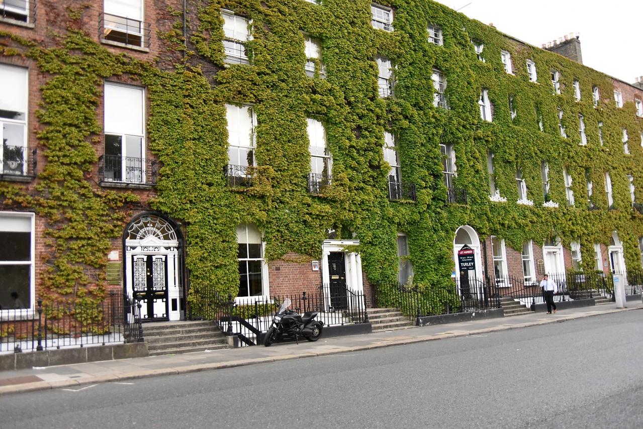 Houses On Fitz William Square