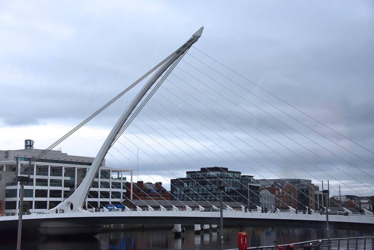 Built by Calatrava  (From Bus)