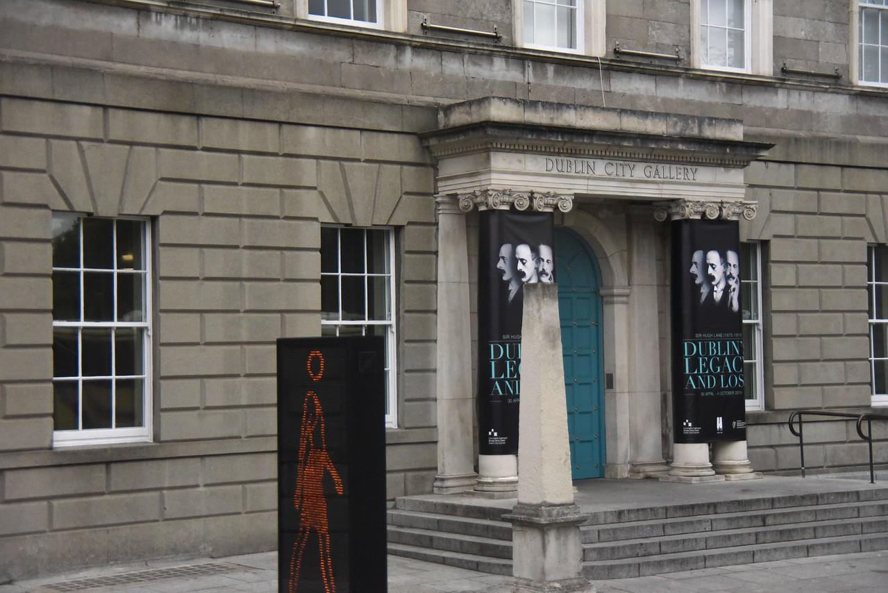 Dublin City Gallery Began From Donation of Hugh Lane  (From Bus)