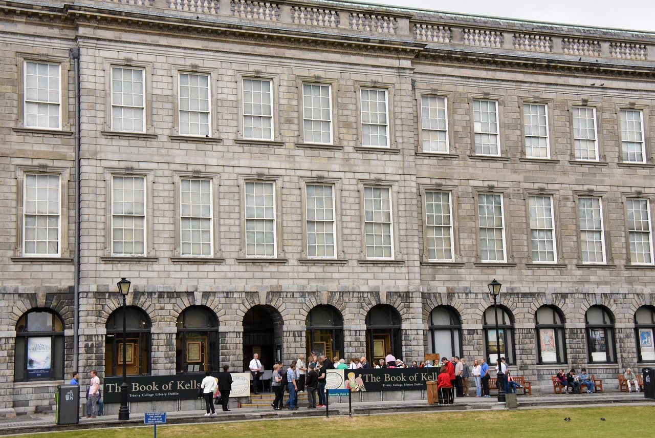Book of Kells and Long Library