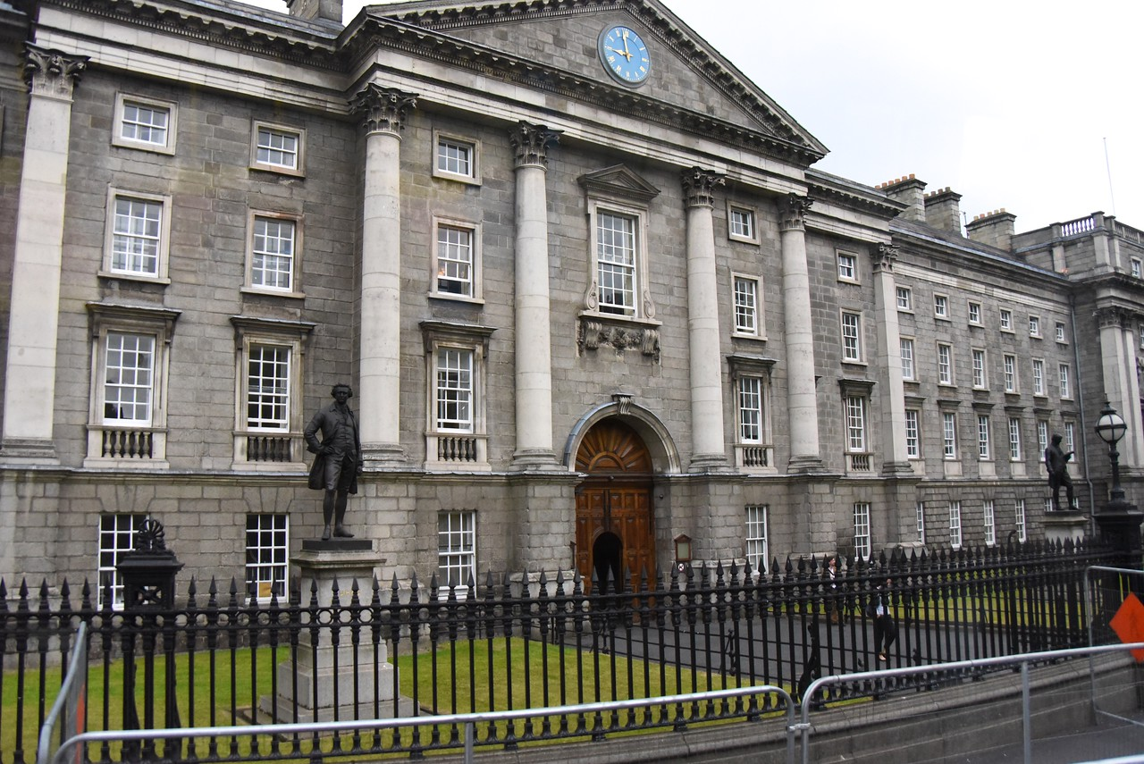 Front of Trinity College