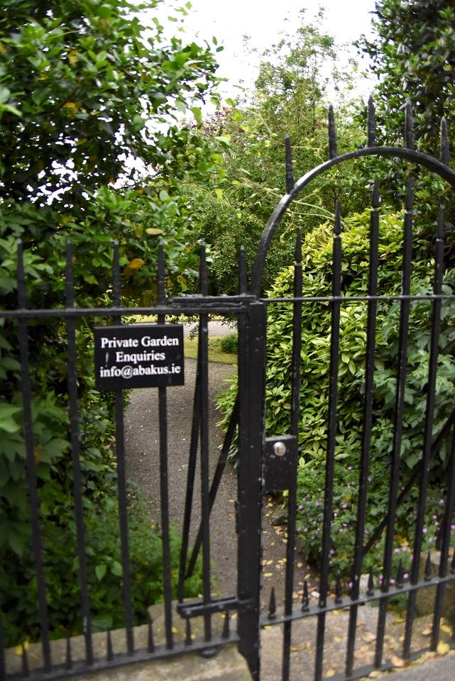 Fitz William Square Gardens Are Only Private Square Gardens Left In Dublin
