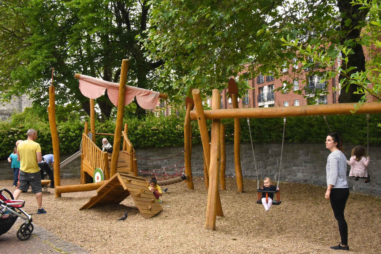 Gulliver's Travels Children's Play Area of St  Patrick's Park