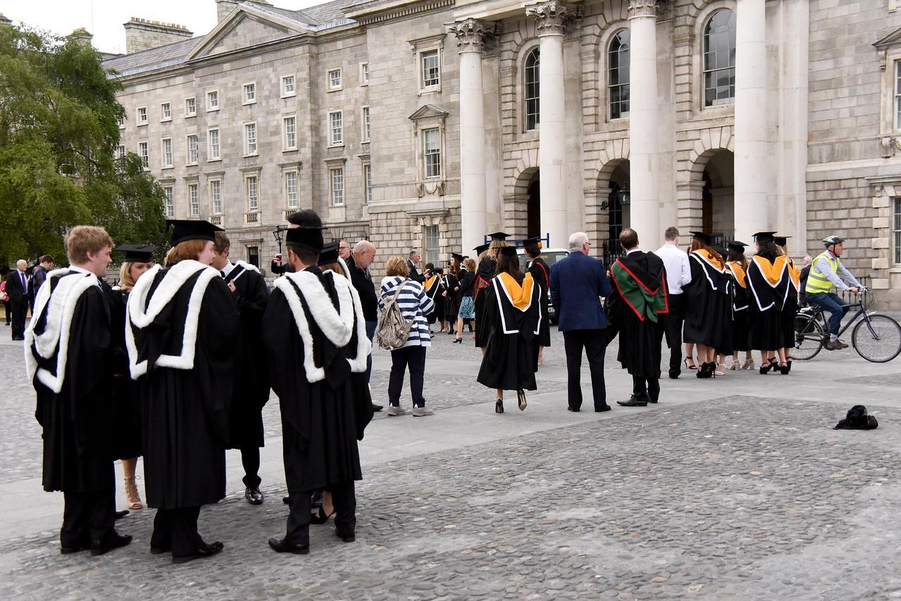 Graduation Day at Trinity College
