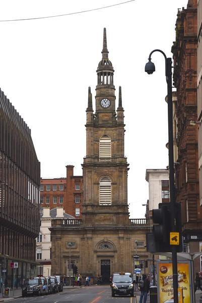 Clock Tower Side of Tron Parish Church