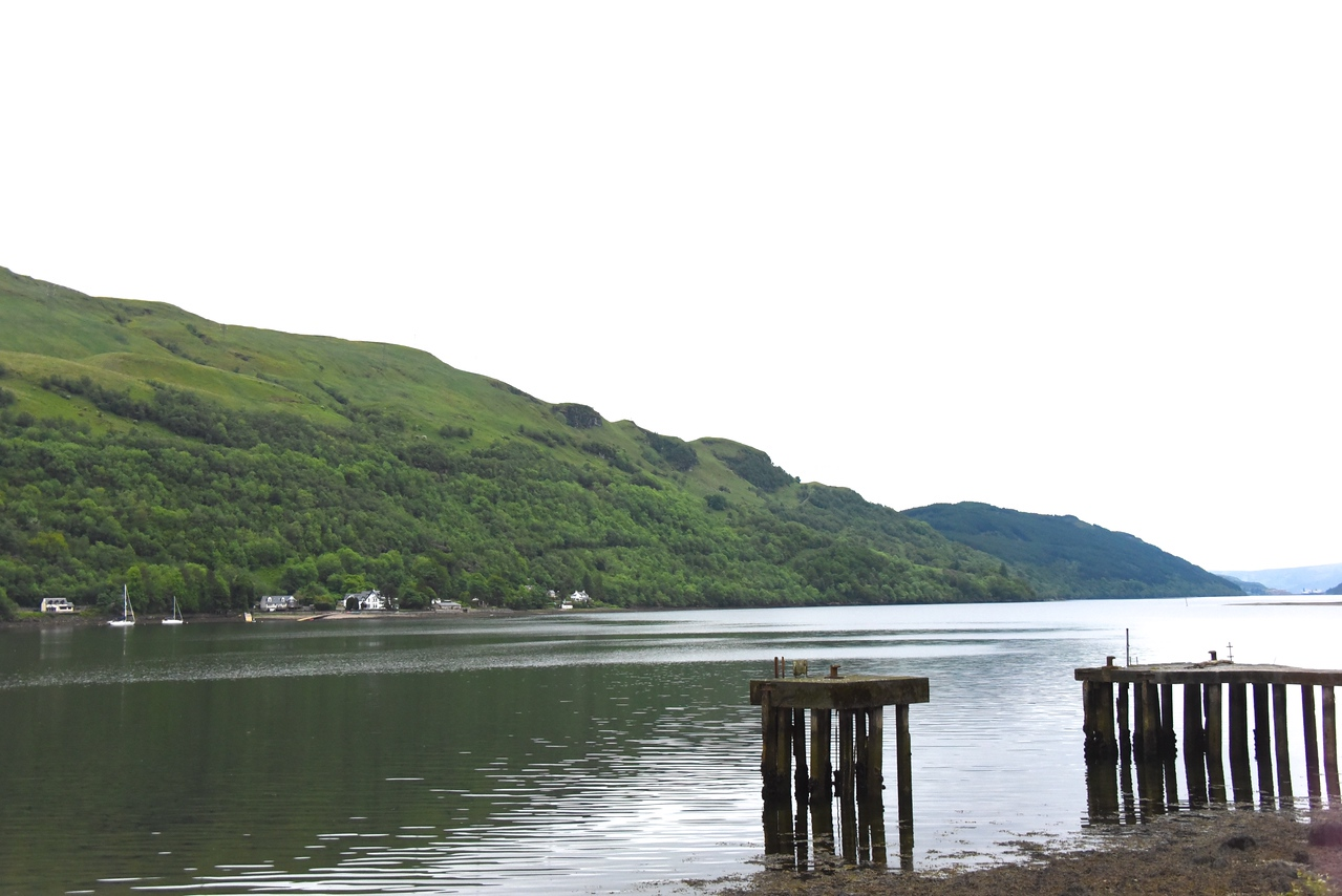 Scenic View of Loch Long  (From Bus)