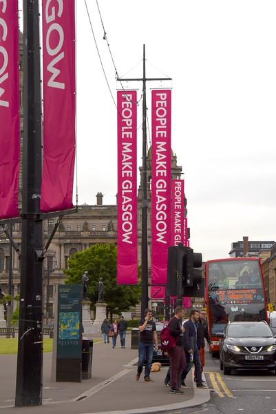 Signage Around St  George's Square
