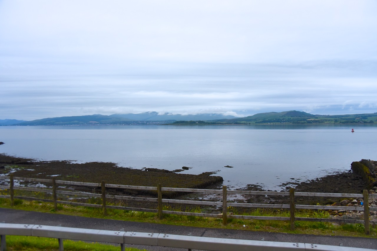 View of Firth of Clyde  (From Bus)