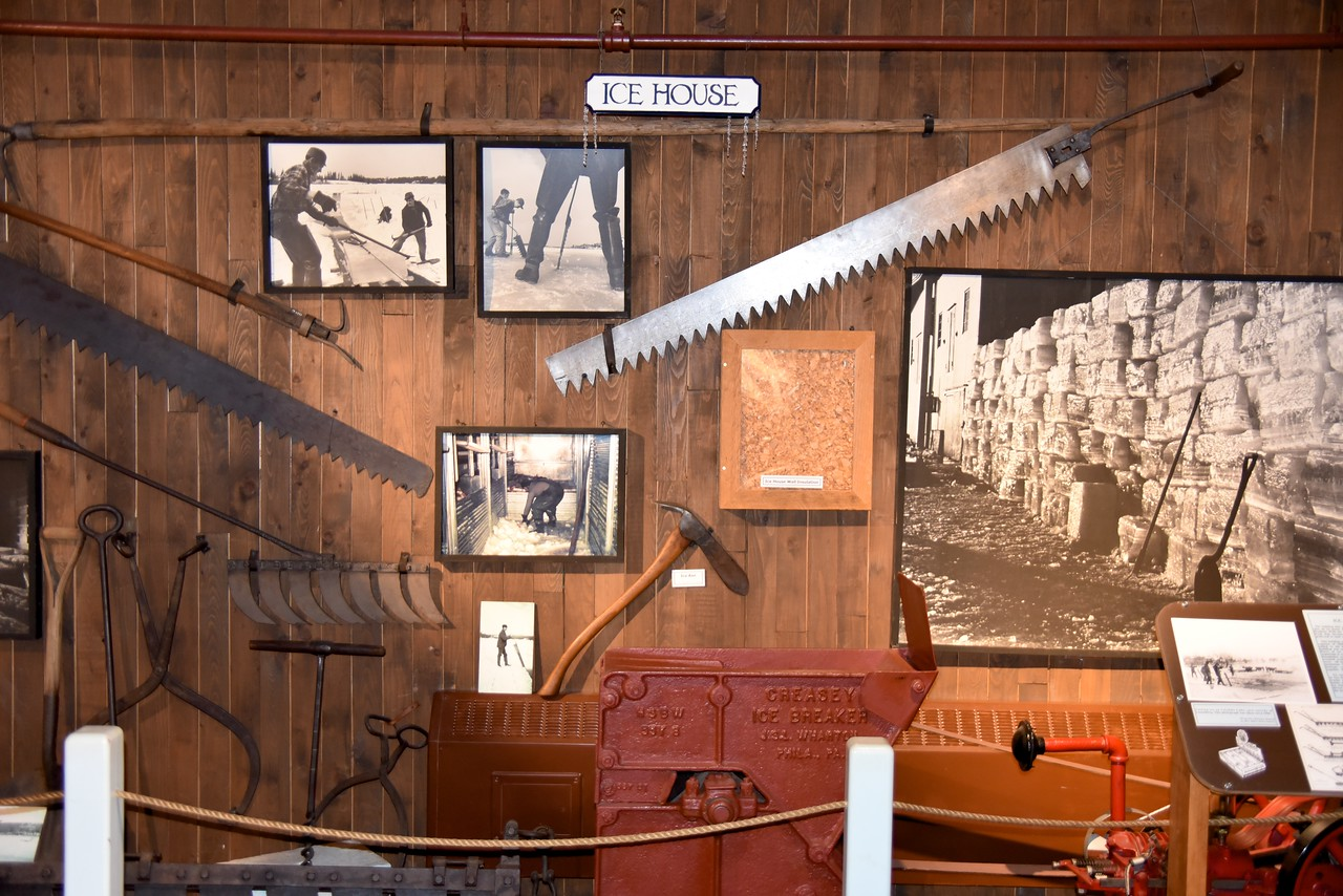 The Second Floor of The Fishermen's Museum Was Where The Ice Was Stored