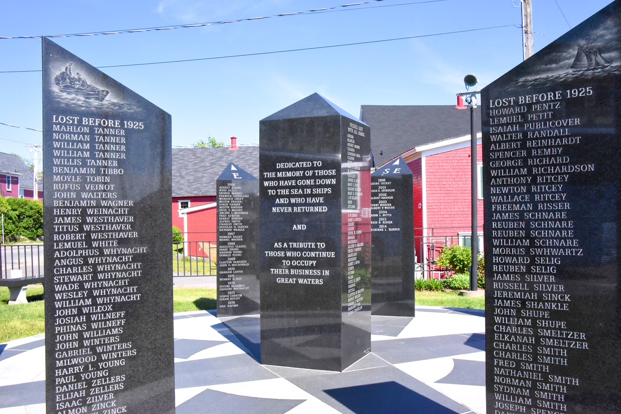 An Outdoor Monument To Men Lost At Sea