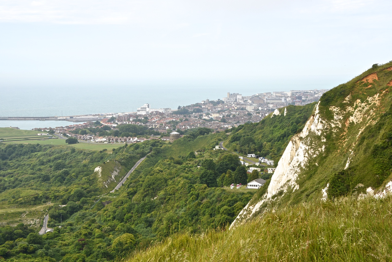"View of Folkestone From ""The Wing"" Museum"