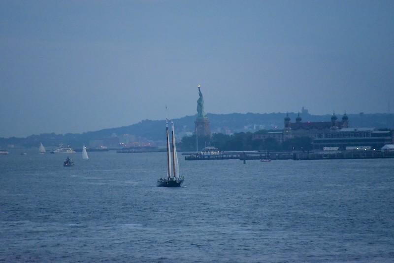 Statue of Liberty at Sailout (8-30pm)