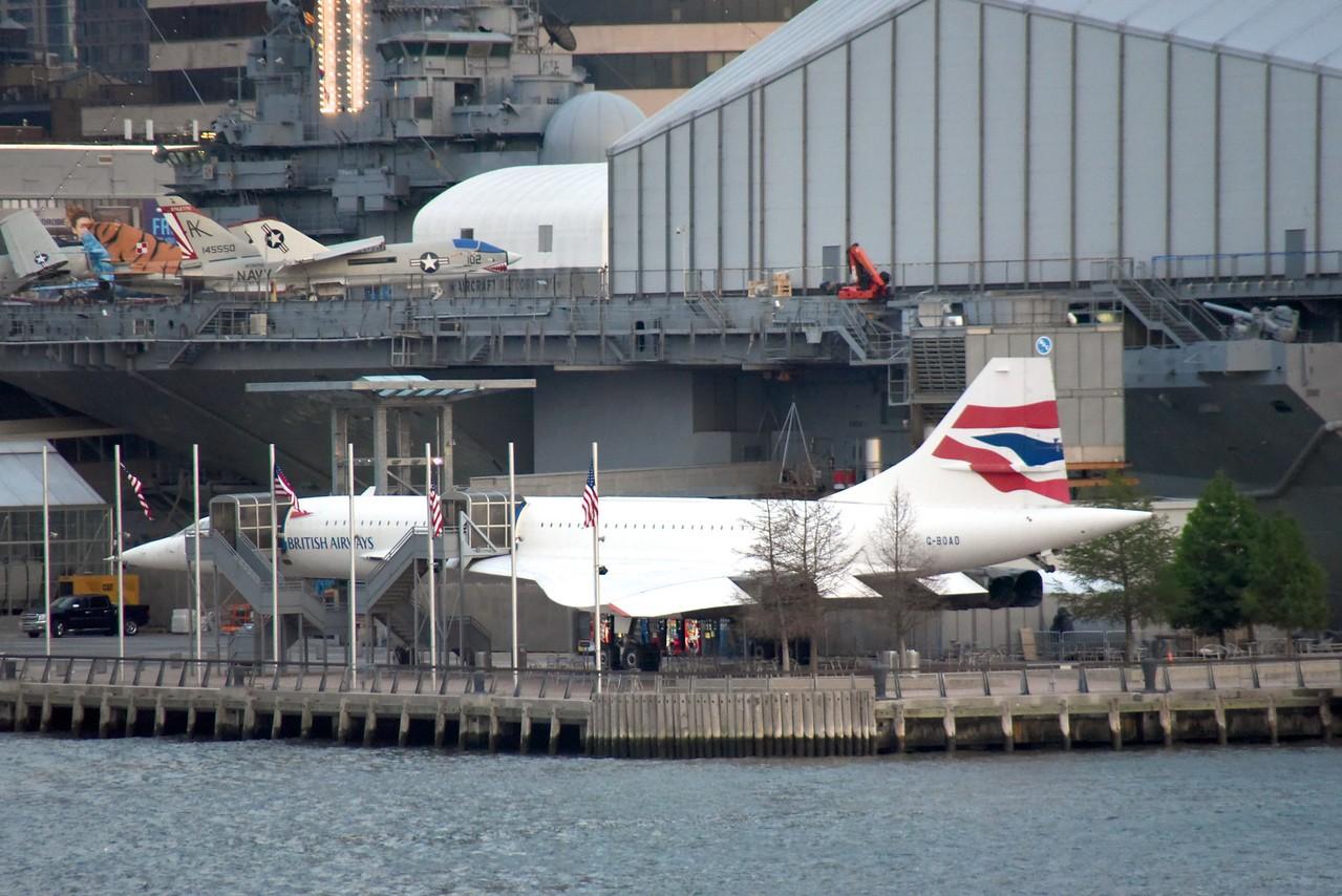 Old British Airways Concord