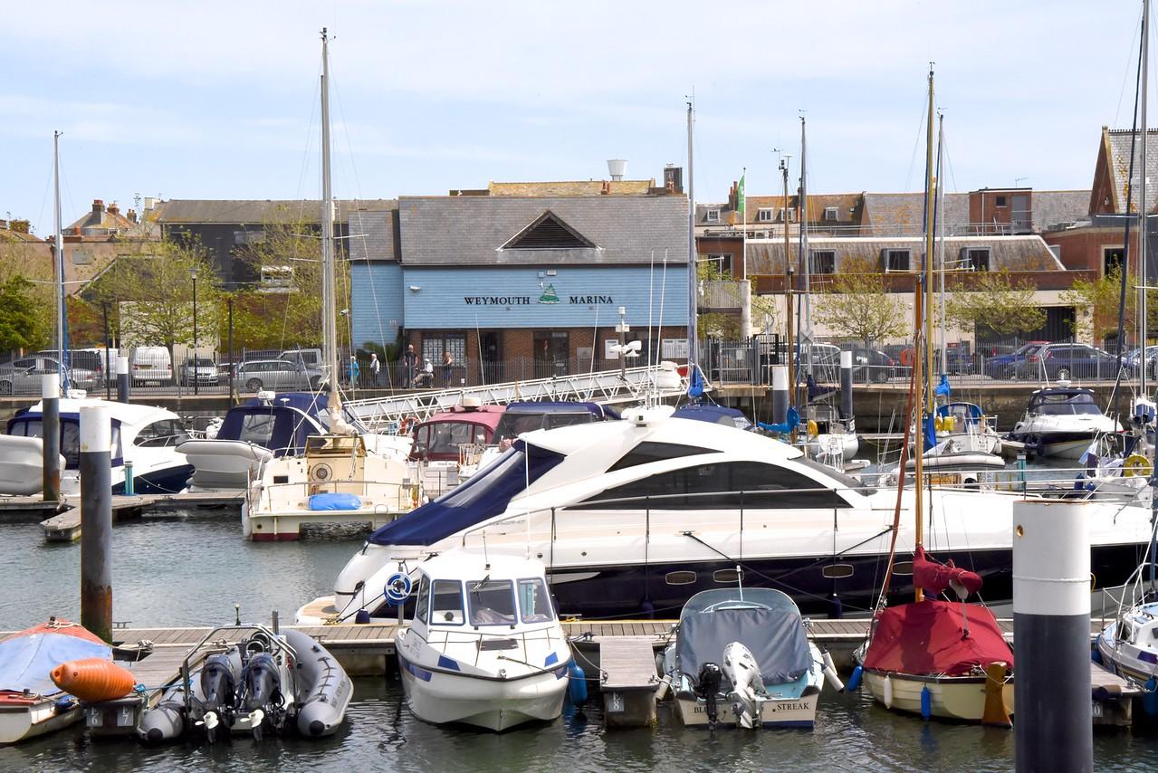 Weymouth Marina  (From Bus)