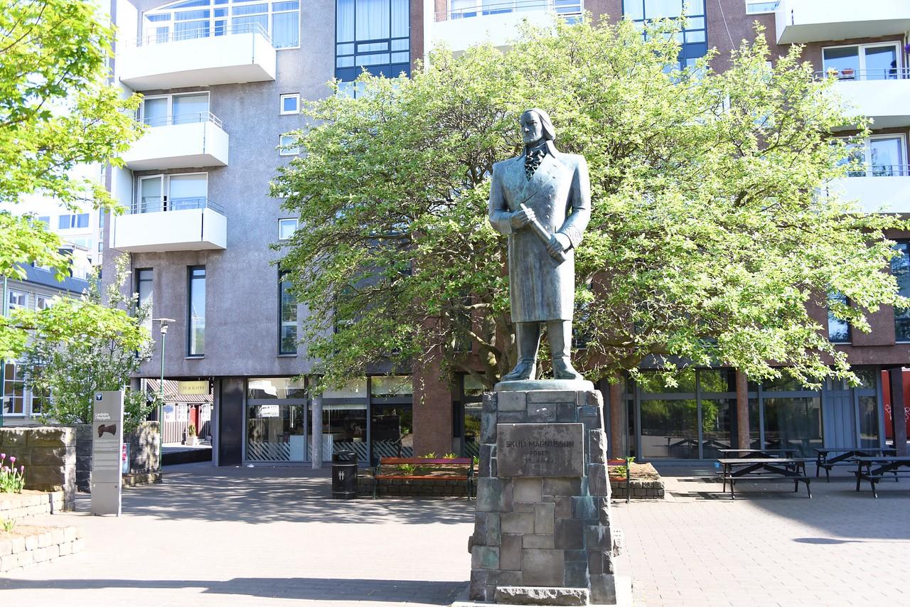 Skuli Magnusson, The Father of Reykjavik