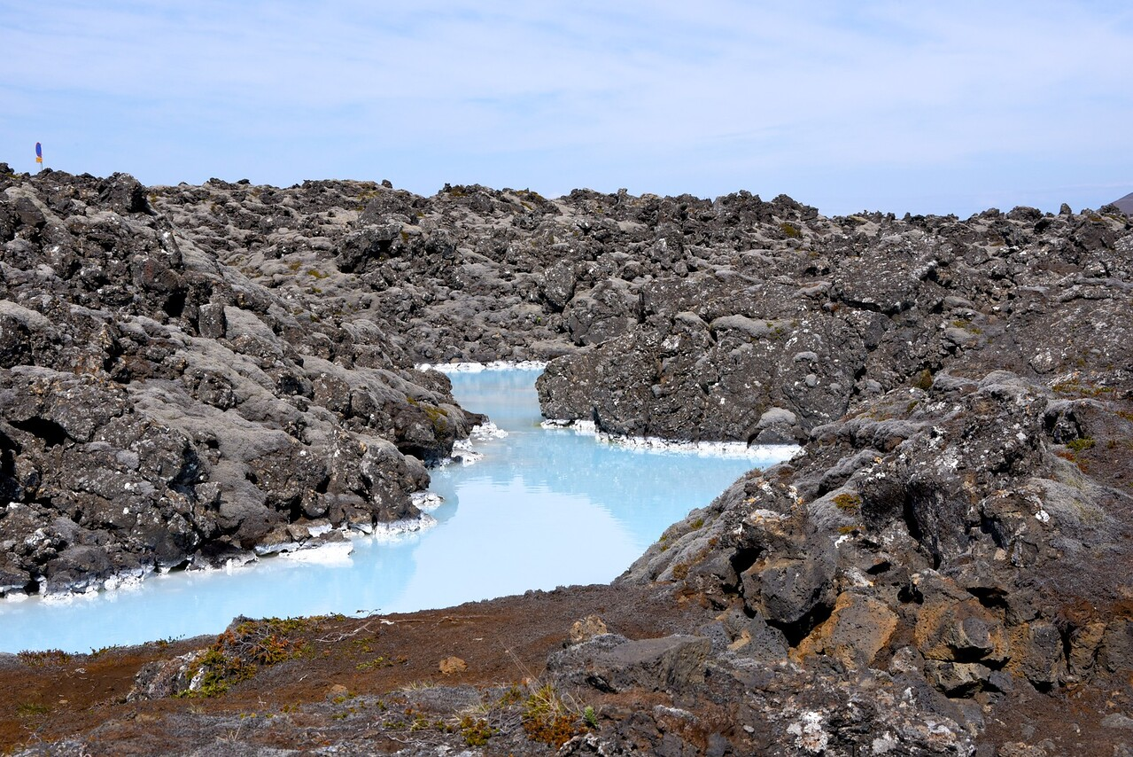 Waters Leading To Blue Lagoon