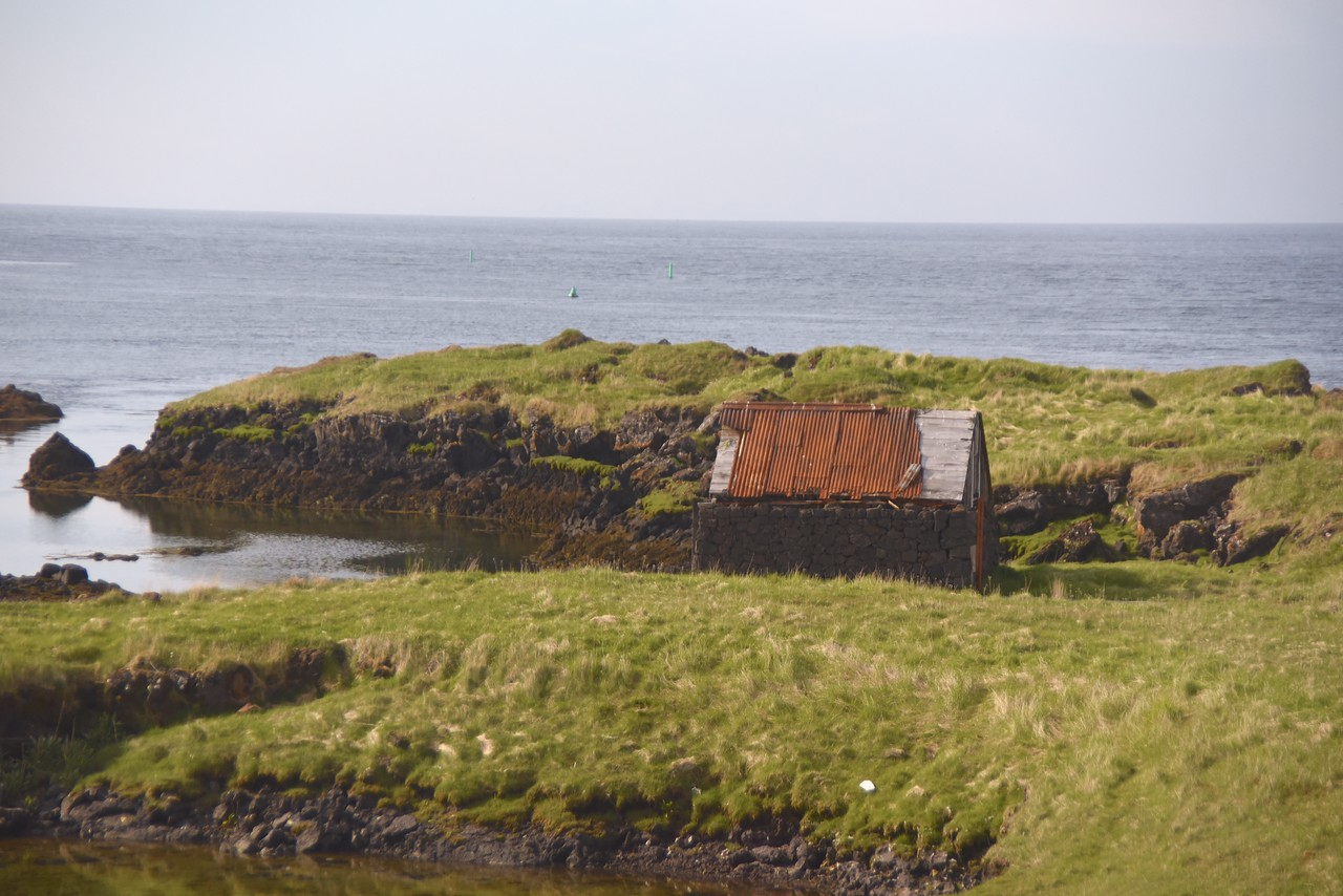 Example of What Appears To Be An Abandoned House  Many of These Throughout Iceland  Citizens Are Encouraged To Buy Small Pieces of Land and Build Homes So They Will Be Invested In The Country And Will Not Leave  These Homes Have Heat and Elec