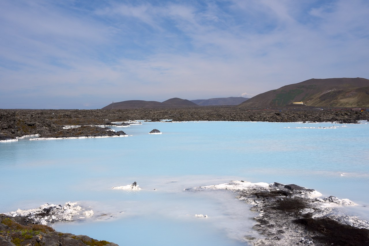 """Area Where Original Blue Lagoon Bubbled Up  It Was Originally Known as """"Poisen Pit"""" Because of The Silica  The Beneficial Power of The Blue Lagoon Waters Were Discovered By Accident"""