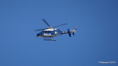 Swedish Police Helicopter SE-JPX over Royal Palace Gamla Stan Stockholm 12-11-2016 10-53-56