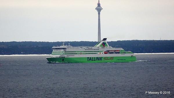 Approaching Tallinn 13 Nov 2016