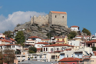 Kavala Castle & Views Therefrom 2 Nov 2016