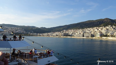 Departing Kavala On Board CELESTYAL NEFELI PDM 02-11-2016 15-35-10