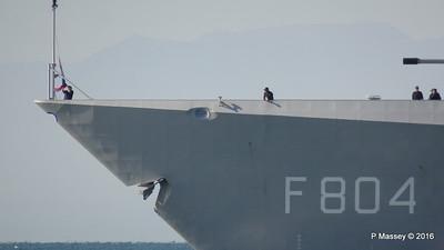 HNLMS DE RUYTER departing Thessaloniki PDM 01-11-2016 10-23-16