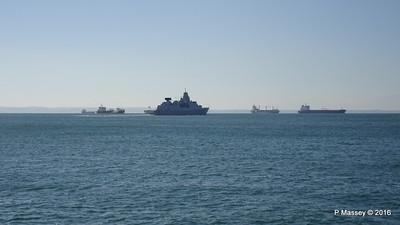 HNLMS DE RUYTER departing Thessaloniki Thermaikos Gulf PDM 01-11-2016 10-30-27
