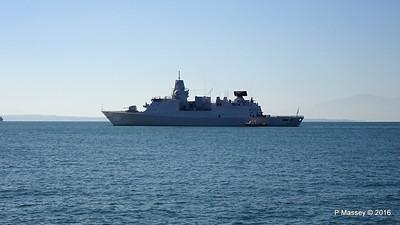 HNLMS DE RUYTER departing Thessaloniki PDM 01-11-2016 10-27-22