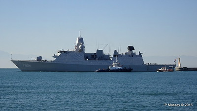 HNLMS DE RUYTER departing Thessaloniki CHRISTOS XXX PDM 01-11-2016 10-24-28