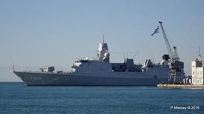 HNLMS DE RUYTER departing Thessaloniki PDM 01-11-2016 10-23-06