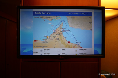 In Cabin TV Ship Voyage Information COSTA FORTUNA PDM 22-03-2016 19-31-37