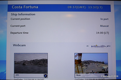 In Cabin TV Voyage Information COSTA FORTUNA PDM 21-03-2016 13-41-23
