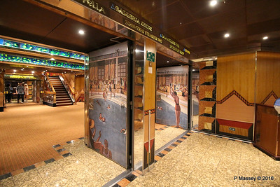 Deck 4 Aft Lift Lobby Door Art COSTA FORTUNA PDM 25-03-2016 00-46-32