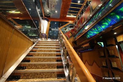 Deck 4 Stb Stairs to Grand Bar Conte Di Savoia 1932 COSTA FORTUNA PDM 23-03-2016 21-07-04
