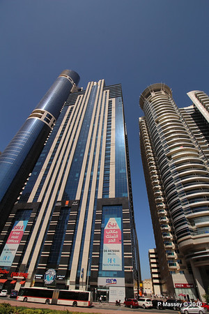 Latifa Towers Sheikh Zayed Rd Skyscrapers Dubai PDM 24-03-2016 10-20-36