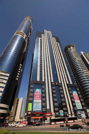 Latifa Towers Sheikh Zayed Rd Skyscrapers Dubai PDM 24-03-2016 10-20-40
